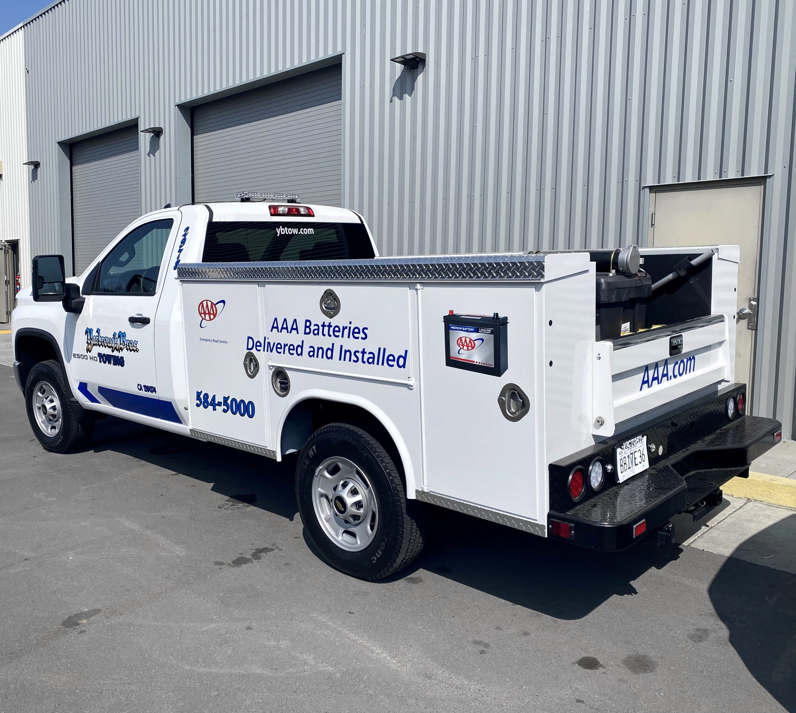Yarbrough Tow Mobile Battery Service
