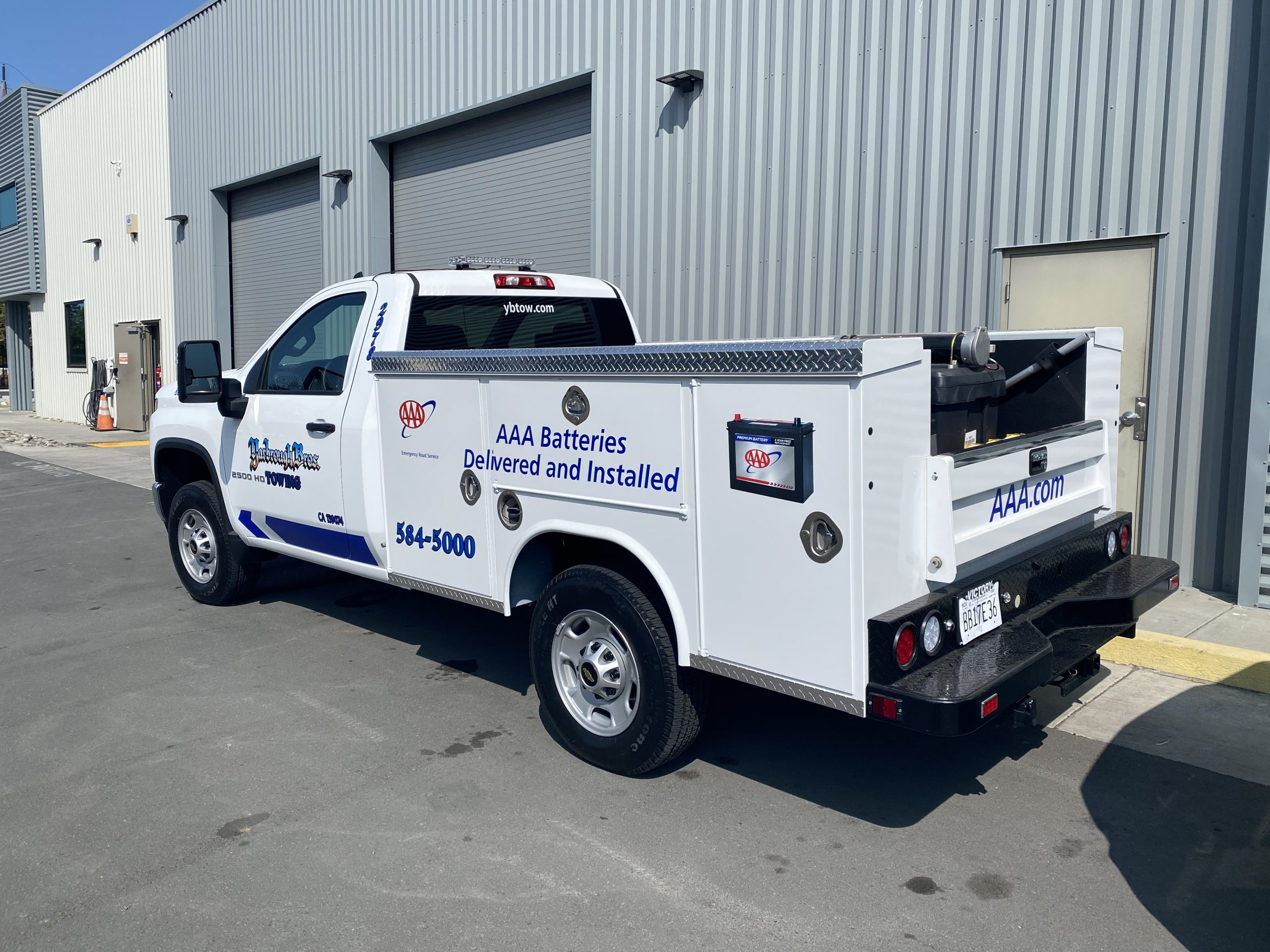 Mobile Battery Service and Sales